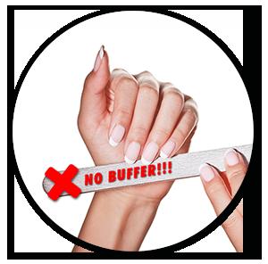no buffer